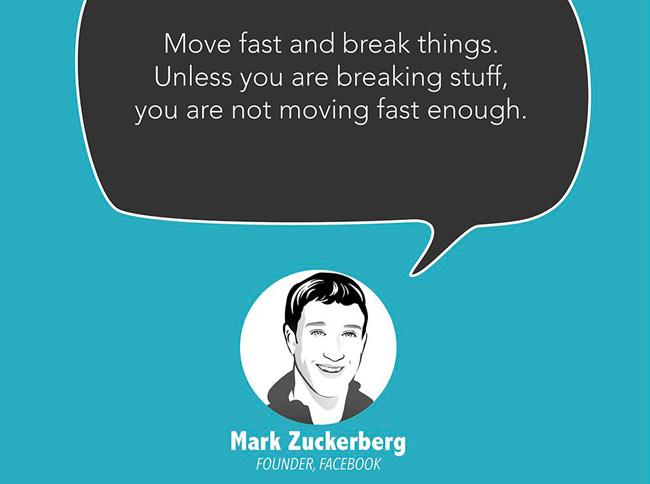 Frasi celebri di chi ha avuto successo Zuckerberg