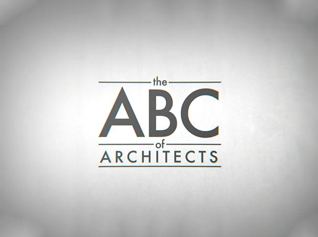 Animazione per riassumere gli elementi fondamentali di ogni architetto
