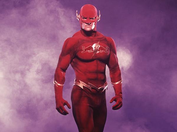 Come sarebbero i supereroi se avessero bisogno di sponsor aziendali?