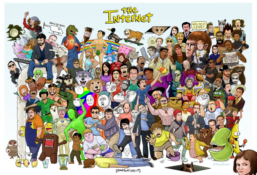 The internet wallpaper