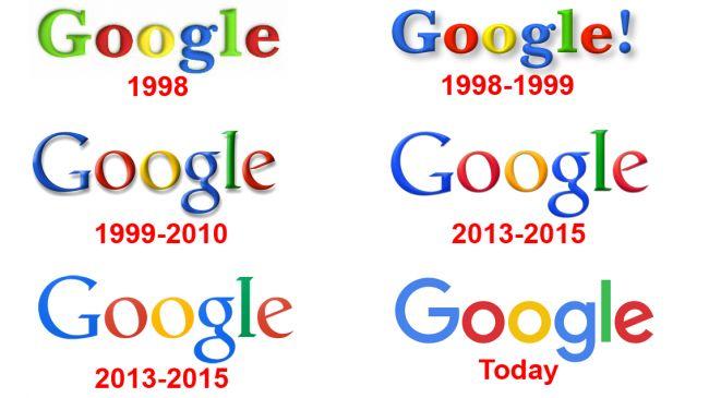 Come sono cambiati negli anni i loghi famosi