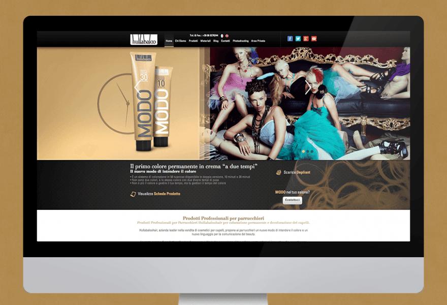 Hullabaloo Hair sito web