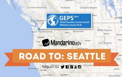 Mandarino adv a Seattle per Scuola365