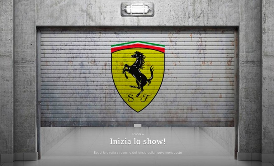 Formula 1 Ferrari SF16-H