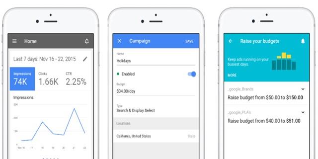 Google AdWords per iOs, finalmente l'app per iPhone e iPad