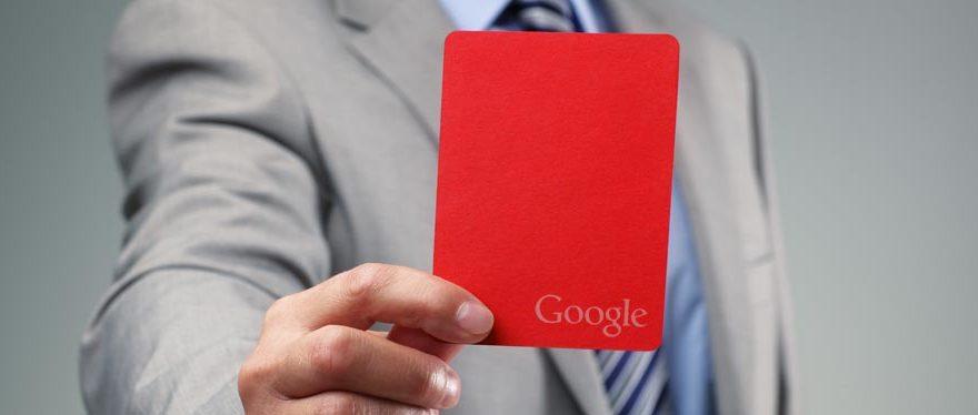 Penalizzazioni Google