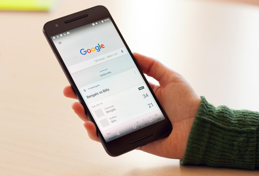 Novità Google navigando da smartphone