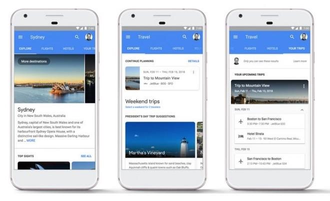 La novità di Google che permette di pianificare viaggi tramite smartphone